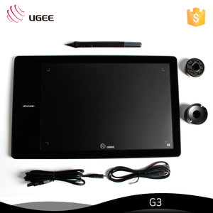 Ugee Black Color Digital Pen Touch PC Writing Pad With Rechargeable Pen