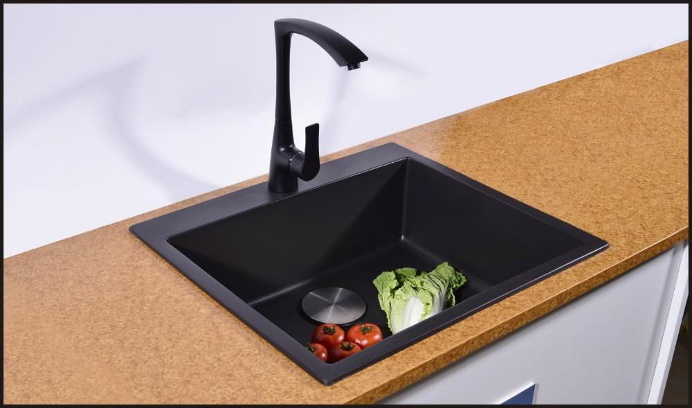 Quartz Composite Kitchen Sink With Drainboard Buy Quartz Composite Kitchen Sinks Granite