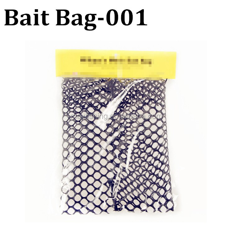 Heavy Poly Mesh Bag with Stainless Steel Clip for Crab Bait  FREE SHIPPING