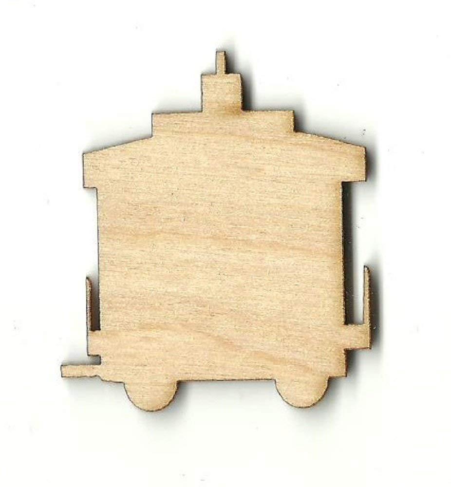 Train - Laser Cut Unfinished Wood Shape TRN12