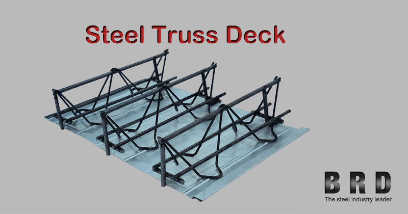 Galvanized Sheet Metal Floor Steel Rebar Truss Deck Buy