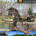My dino-fun park equipment animal skeleton replicas