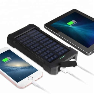 Solar Charger LAUMOX Solar Power Bank 20000mAh Waterproof Portable Battery Charger for Android and iOS