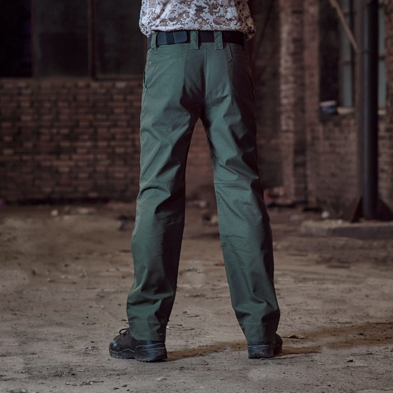 2017 New Casual Men Tactical Cargo Pants Slim Multi-pockets Trousers Available Fashion Workwear Pants