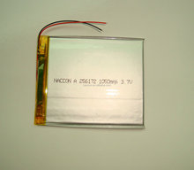 302025 105mah Li-polymer battery with PCB and Wire