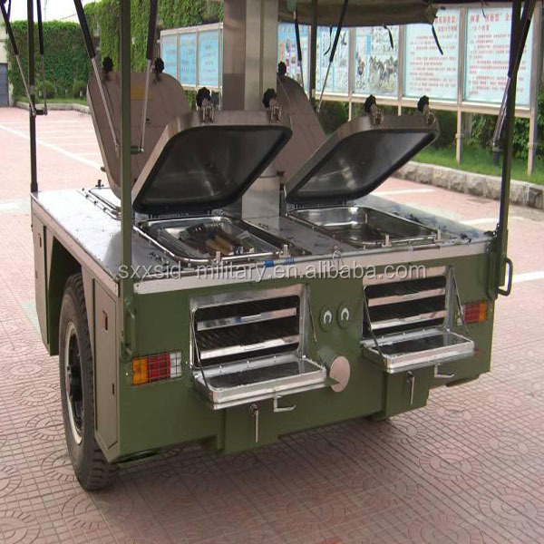 Cxxc 250 Mobile Field Kitchen,Military Cooking Trailer