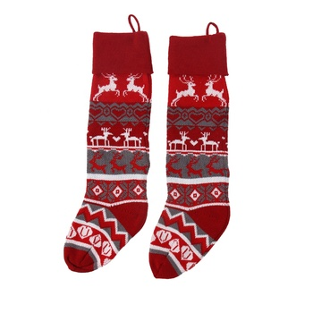 Wholesale New Design Personalized Knitted Christmas Stocking