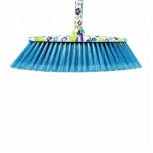 ESD Plastic Hard Bristle Cleaning Magic Broom With Metal Handle