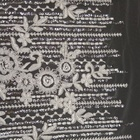 New design 3d sequins polyester embroidery lace fabric