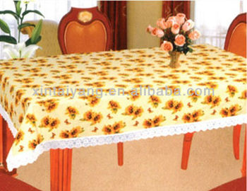 Waterproof Dining Table Cloth,thick Plastic Cover Table Cloth,indian  Embroidered Table Cloth