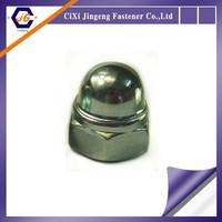 DIN 986 Self Locking Domed Cap Nut with Nylon Insert