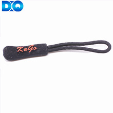 Rubber String Pvc Zip Sport Garment Zipper Puller