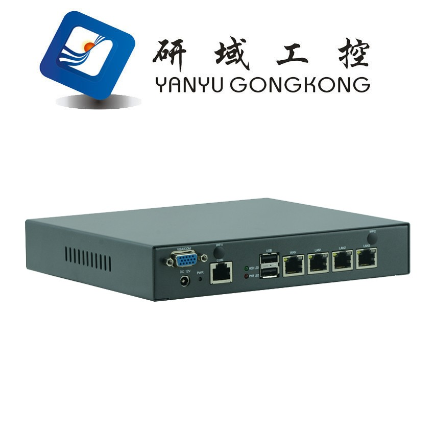China factory Pfsence Intel J1900 4 lan nic ethernet ports 4 rj45 LAN Gateway mini pc portable mini linux server