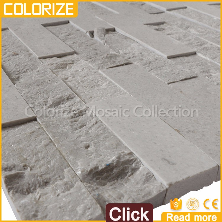 Natural Marble Exterior Wall Cladding Decorative Stone Tile