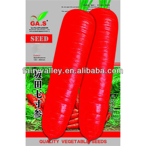 Bulk Hybrid F1 High Yield-Sakata 7 Inches Carrot Seeds Red Color