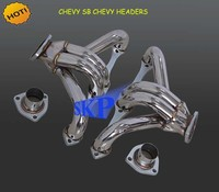 Exhaust Header For Chevy Small Block Hugger 283 305 327 350 400 V8