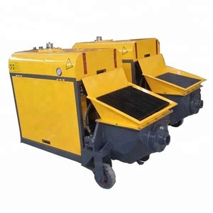 small Trailer Mounted Diesel Concrete Pump (50~60m3/h) for sale