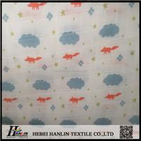 Organic cotton double gauze fabric manufacturer