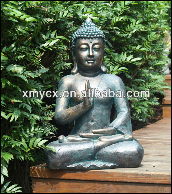 Grandes resina figura de buda para la decoraci n del jard n artesan a resina identificaci n del - Figuras buda decoracion ...