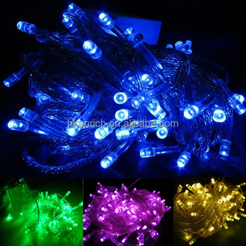 Ip44 Outdoor Decorative Led Fairy Bulb String Lights 10m