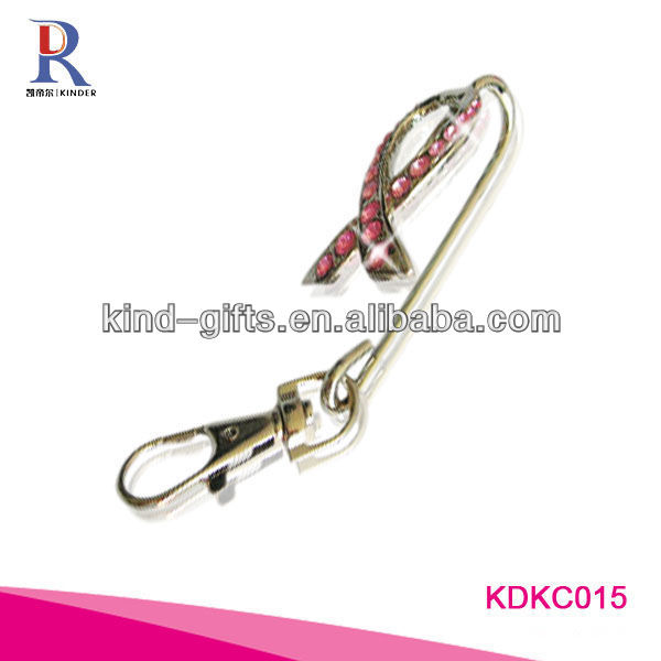 Fashion bling crystal gifts long keychain vners brand