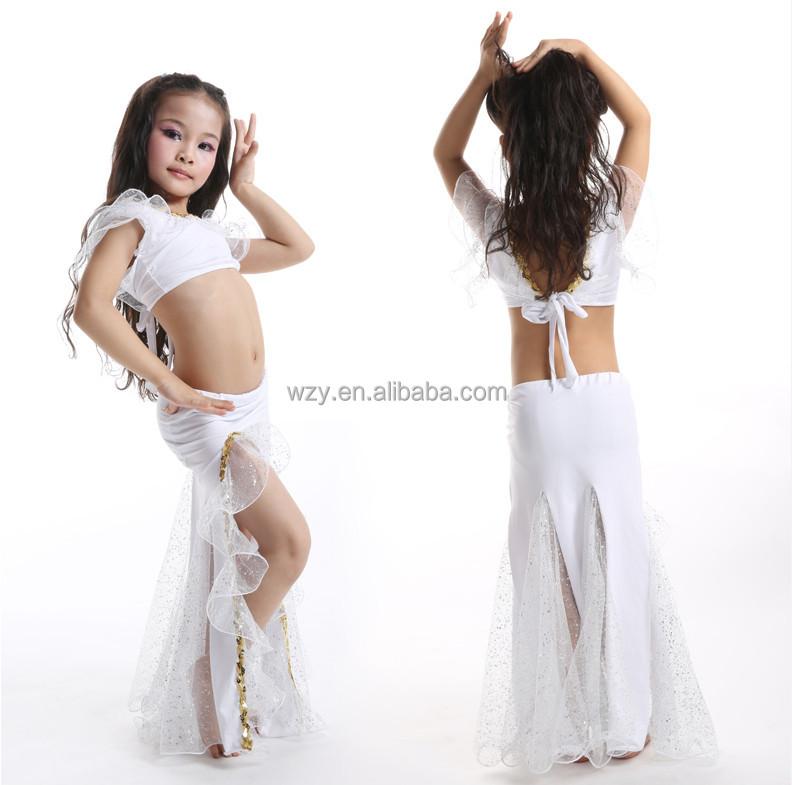 6da3cef01e29 Milk Silk Children's Stage Costume Children Ballroom Dance Wear ...