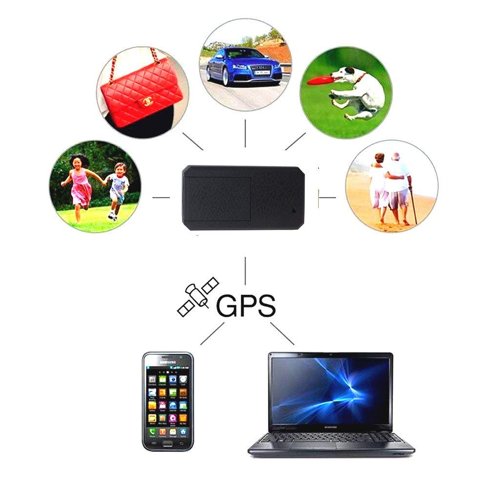 Hangang GPS Car Tracker, Mini Vehicles Tracking Device Long Battery 200h Online Moving Tracking Car Locator for Olderly,Kids,Cars Truck Boats-TK901 Hangang Car Truck GPS Tracker Strong Magnet Vehicle