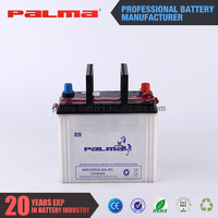 Best price in China dry charge car battery, taiwan