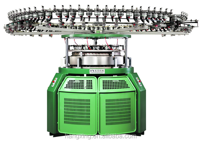 Single Jersey Computerized/Electronic Mesh Jacquard Circular Knitting Machine