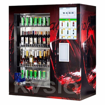 Brandy Champagne Beer Red Wine Auto Vending Machine With Elevator And Real  Time Monitoring System - Buy Wine Vending Machine,Alcohol Vending  Machine,Automated Vending Machine Product on Alibaba.com