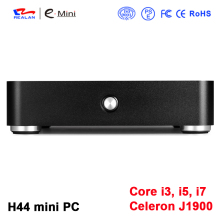 Cheapest Fanless Quad-Core Mini PC H44 J1900 2.0GHz Desktop Barebone Computer windows10 Small
