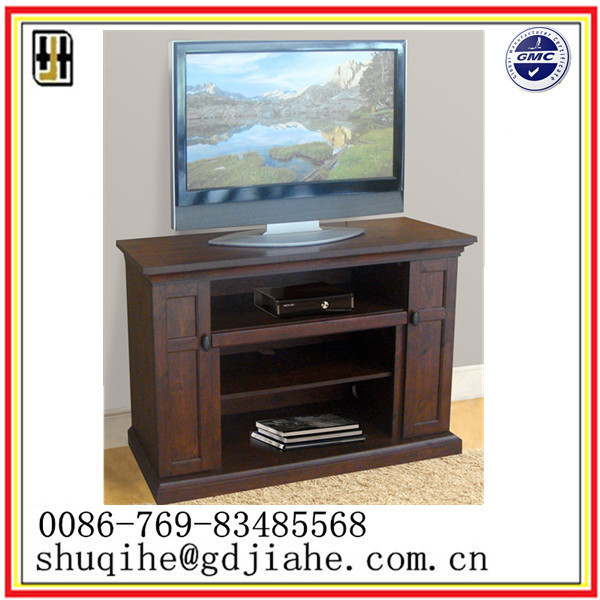 2016 Walnut Red Unique Wood Led Tv Stand,Mobile Used Tv Stand ...