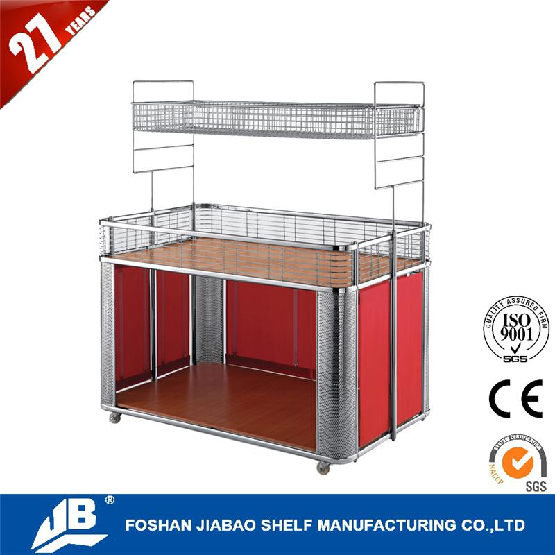 Best quality display rolling dolly cart for promotion