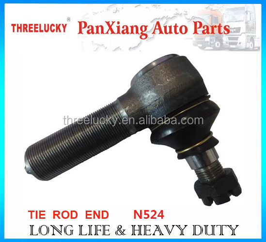 Heavy duty truck auto spare parts ball joint tie rod end N524 N525 for MAN