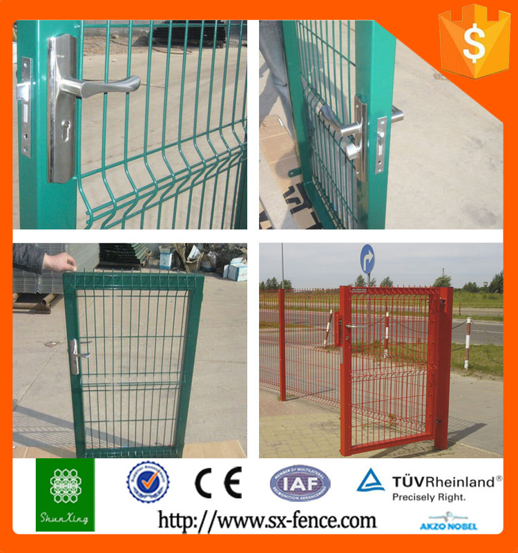 New Design Metal Iron Gate,Iron Pipe Fence Gate Color Design