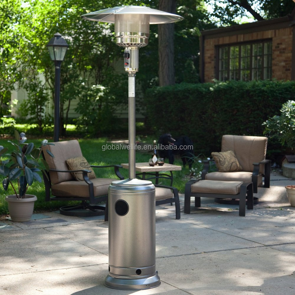 heater flame gas steel stainless living patio