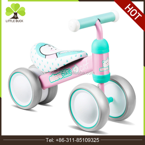 Lightweight Girls Pink First Children balance bike /lovely cartoon Toddler Kids mini Balance Bike No Pedals Suitable Ages 2 3 4