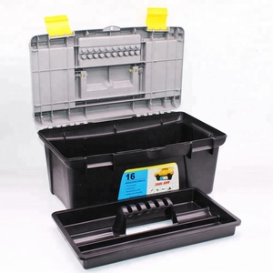 11'' 12'' 13'' 14''15''16''17'' household tool box set Plastic Toolbox with handle for tools carring