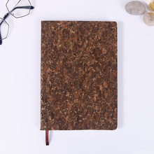 Best selling pu leather A6 A5 size school notebook