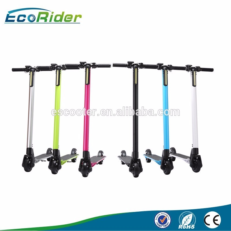 2016 New Hot Sale Electric Pro Kick Scooter With Stand and Reflective Film for Sale