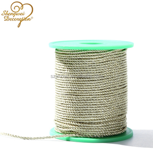 3-strand twisted cotton/rayon rope for handle or packing