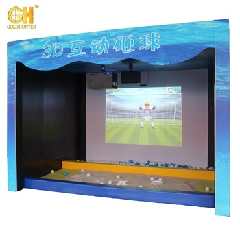 Kids And Children Playground Floor Projection System 3D Interactive Projector Game