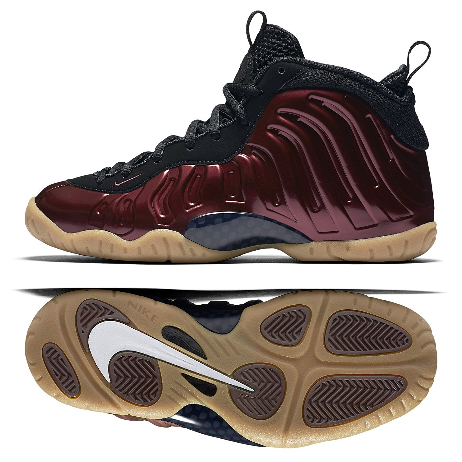 6c40ac536eef4 Get Quotations · Nike Little Posite Pro (GS) (NIGHT MAROON