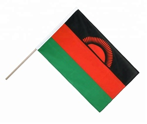 Hand Waving Flag ECO Malawi 2x3 ft Flags