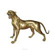 2019 Newest Competitive Price Leopard Bronze Sculpture
