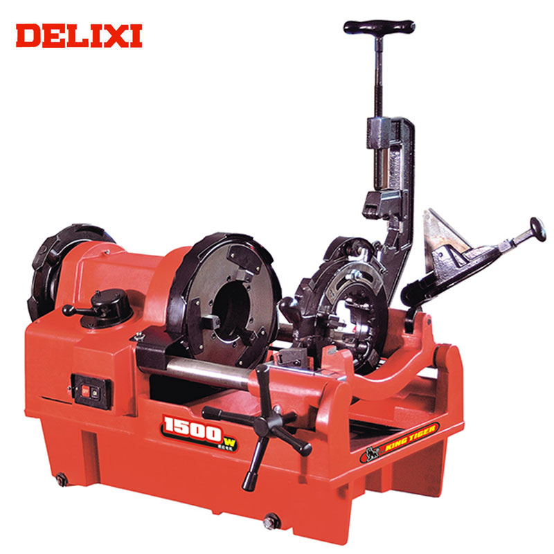 Pipe Threader DELIXI DLX100F Low Cost 2018 New 4 in. Used Pipe Threading Machines For Sale