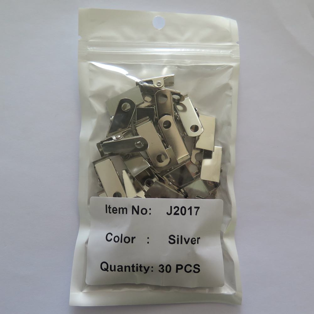 Binder <strong>Clip</strong> Factory Price Plated Simple 12x23x31MM Practical 30PCS Per Bag Silver <strong>Clips</strong> for Home, Office, Home Decoration