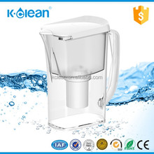 FDA certificated BPA free alkaline water filter jug with negative ORP