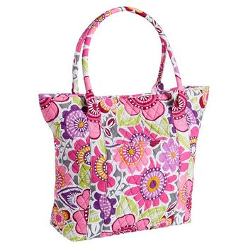 Quilted Sleepover Floral Tote/quilted weekender bag, View cotton ... : quilted floral tote bags - Adamdwight.com