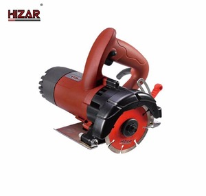 HIZAR H110MCB high quality chinese power tools portable marble stone cutting machine electric saw